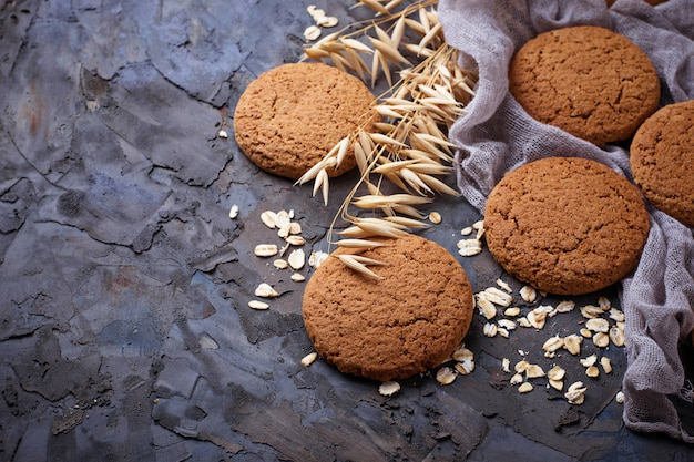 Biscuits à l'avoine fait maison