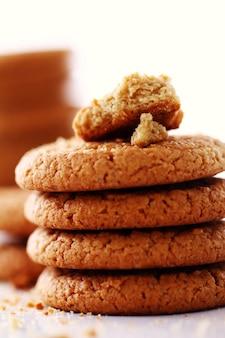 Biscuits à l'avoine frais et savoureux