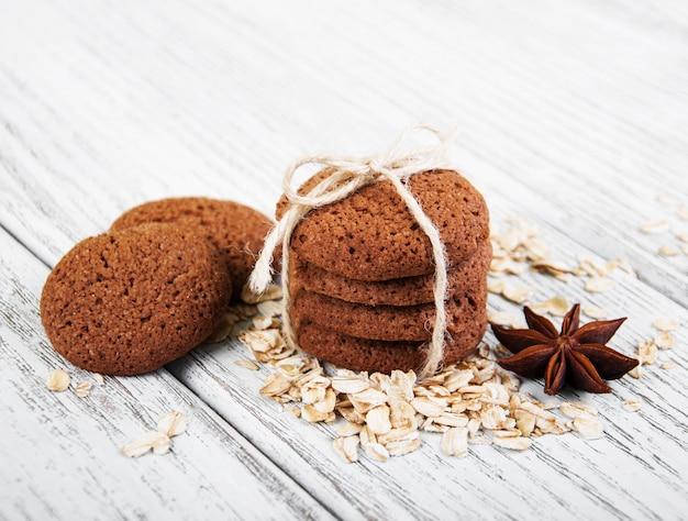 Biscuits d'avoine sains