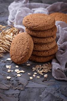 Biscuits à l'avoine sans gluten