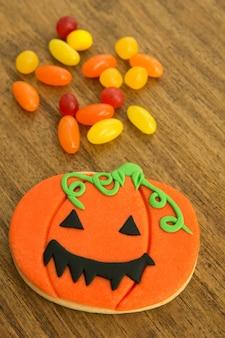 Biscuits et bonbons d'halloween