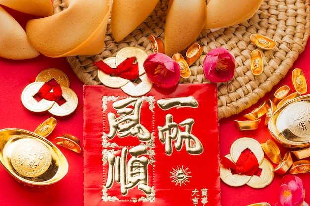 Biscuits chinois du nouvel an 2021