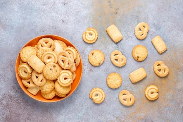 Biscuits Danois Au Beurre. Photo gratuit