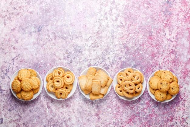 Biscuits danois au beurre.
