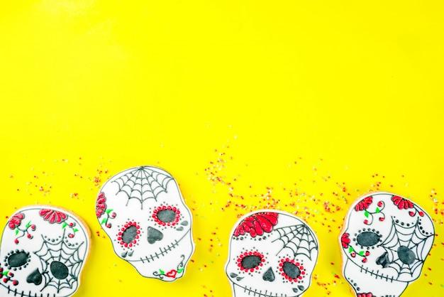 Biscuits du jour mexicain des morts