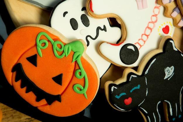 Biscuits effrayants d'halloween