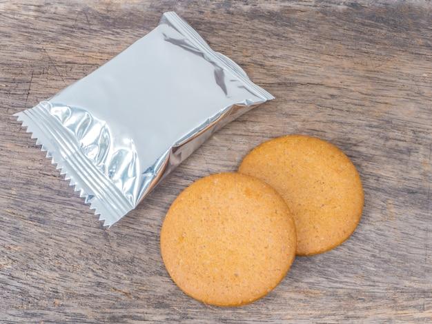 Biscuits et emballage en aluminium