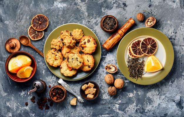 Biscuits fraîchement cuits