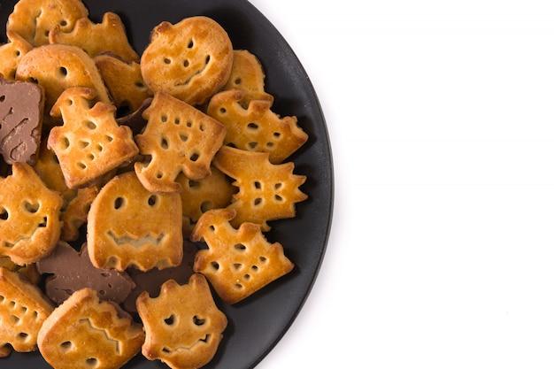 Biscuits d'halloween drôles