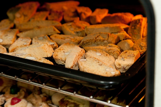 Biscuits italiens cantucci