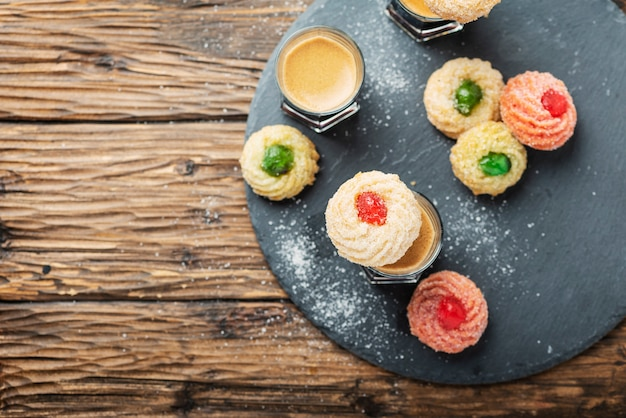 Biscuits italiens traditionnels aux amandes