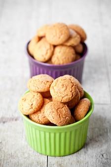 Biscuits à la meringue aux amandes