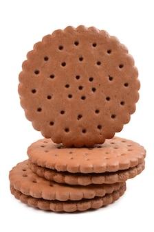 Biscuits nappés chocolat noir