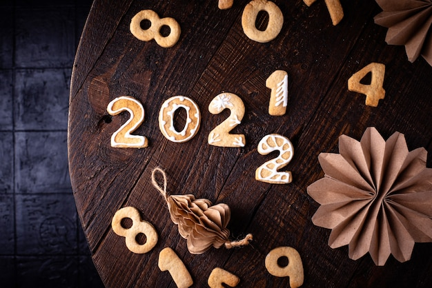 Biscuits de noël et du nouvel an