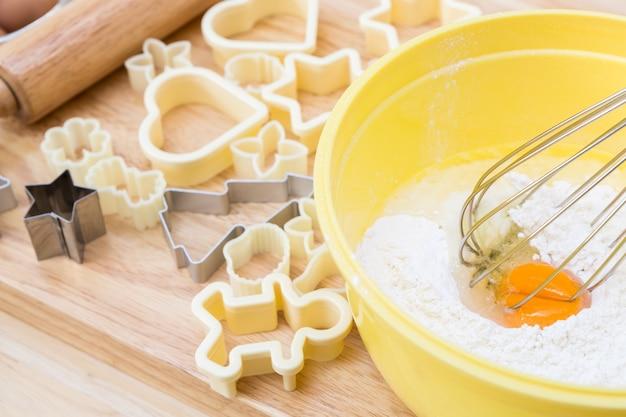 Biscuits de noël préparation