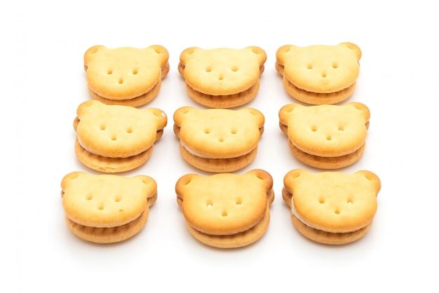 Biscuits à l'ours à la crème