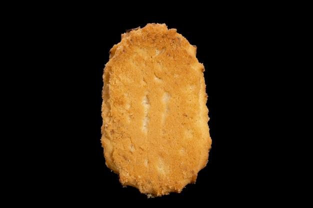 Biscuits sablés isolés