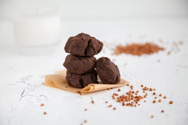 Biscuits sains à la farine de sarrasin maison
