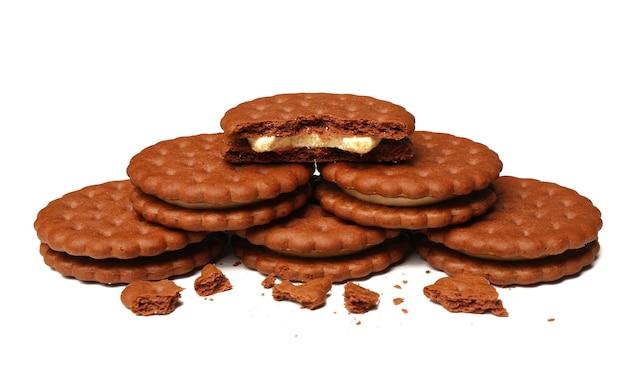 Biscuits savoureux avec des miettes