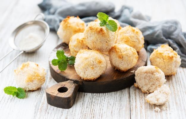Biscuits sucrés à la noix de coco