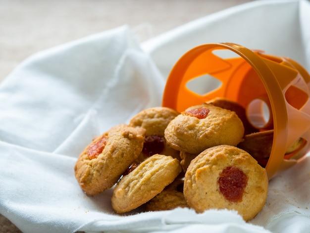 Biscuits sucrés prêts à servir