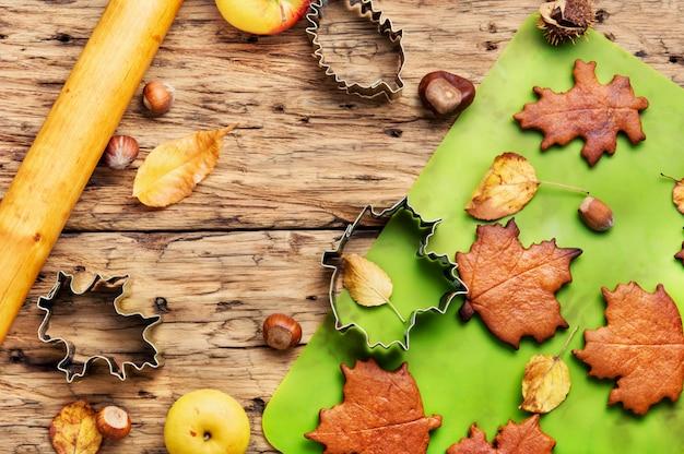Biscuits symboliques automnaux