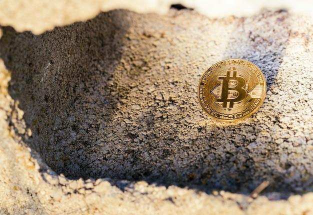 Bitcoin caché à l'intérieur d'un bloc