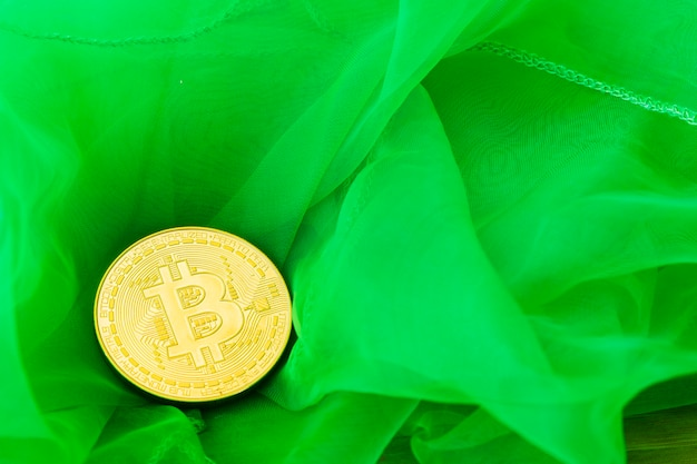 Bitcoin crypto-monnaie numérique bit coin btc monnaie technologie business business concept.