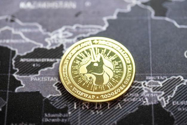 Bitcoin crypto-monnaie le taux de croissance de la pièce d'or est une devise importante pour tout payer