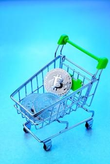 Bitcoin dans le panier