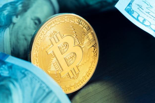 Bitcoin et dollar