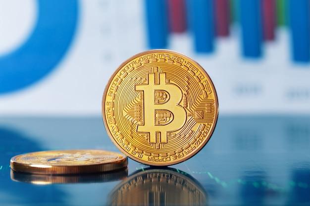 Bitcoin et graphique