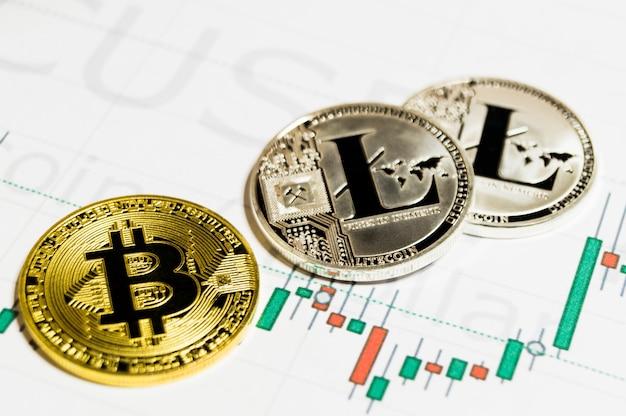 Bitcoin et litecoin est un moyen d'échange moderne et cette crypto-monnaie