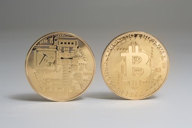 Bitcoins dorés