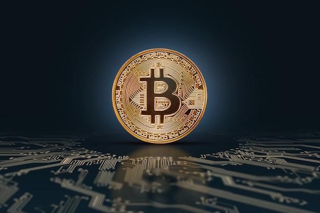 Bitcoins. monnaie électronique, crypto-monnaie.