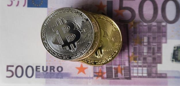 Les bitcoins sont sur l'argent