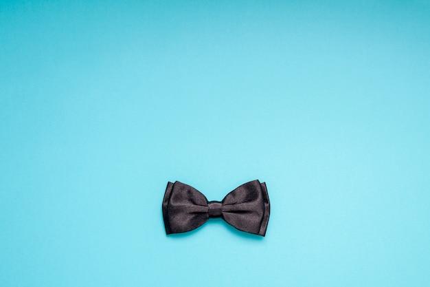 Black gentleman bow tie concept de père de pères hommes