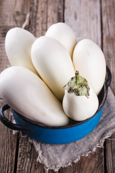 Blanc d'aubergine