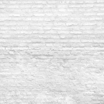 Blanc mur de briques