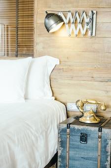 Blanc oreillers chambre literie matelas
