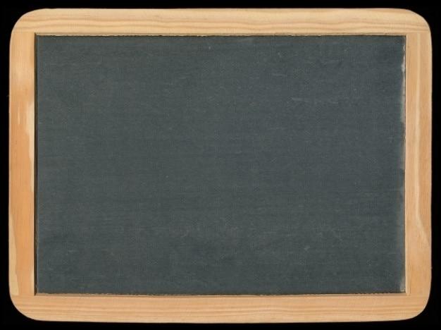 Blank chalkboard millésime
