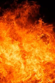 Blaze feu flamme fond