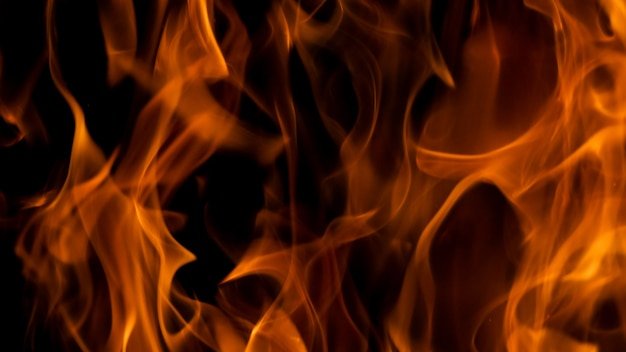 Blaze fond de texture de flamme de feu