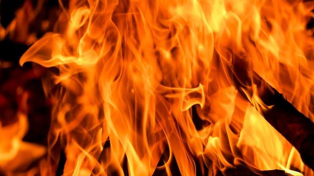 Blaze texture de flamme de feu
