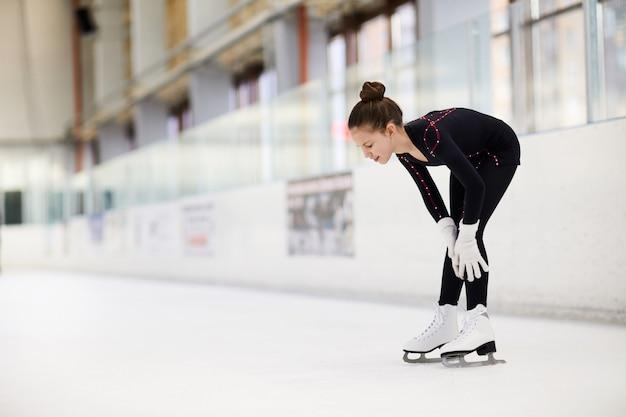 Blessure sur la patinoire