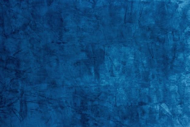 Bleu béton et ciment abstrait fond texturé.