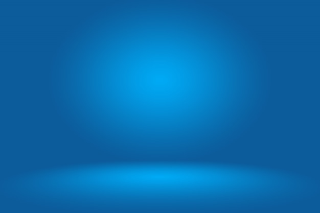Bleu foncé lisse avec black vignette studio.