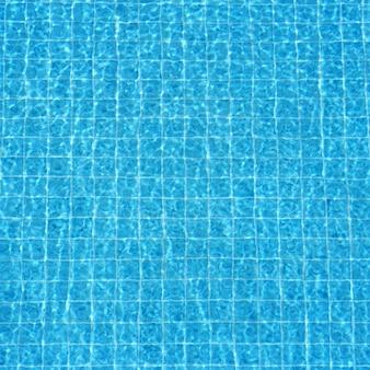 Bleu, ondulé, eau, fond, piscine