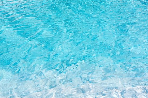 Bleu texture de l'eau