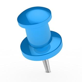Bleu thumbtack